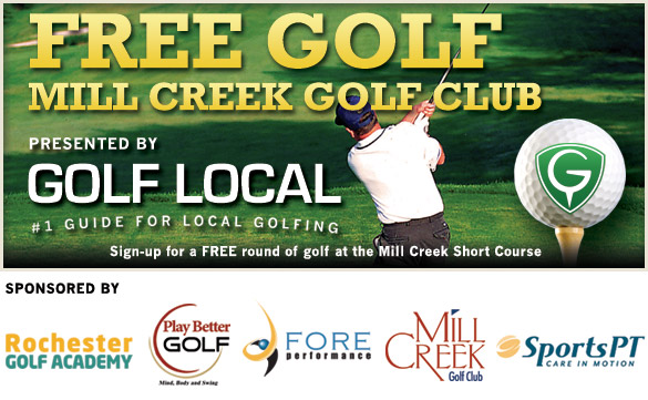 Free Golf at the Mill Creek Short Course